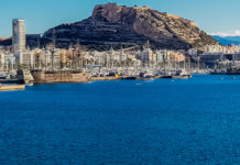 Alicante an der Costa Blanca