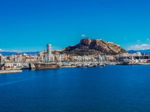 Alicante an der Costa Blanca