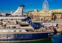 Im Hafen von Malaga