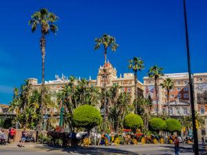 Malaga am Morgen