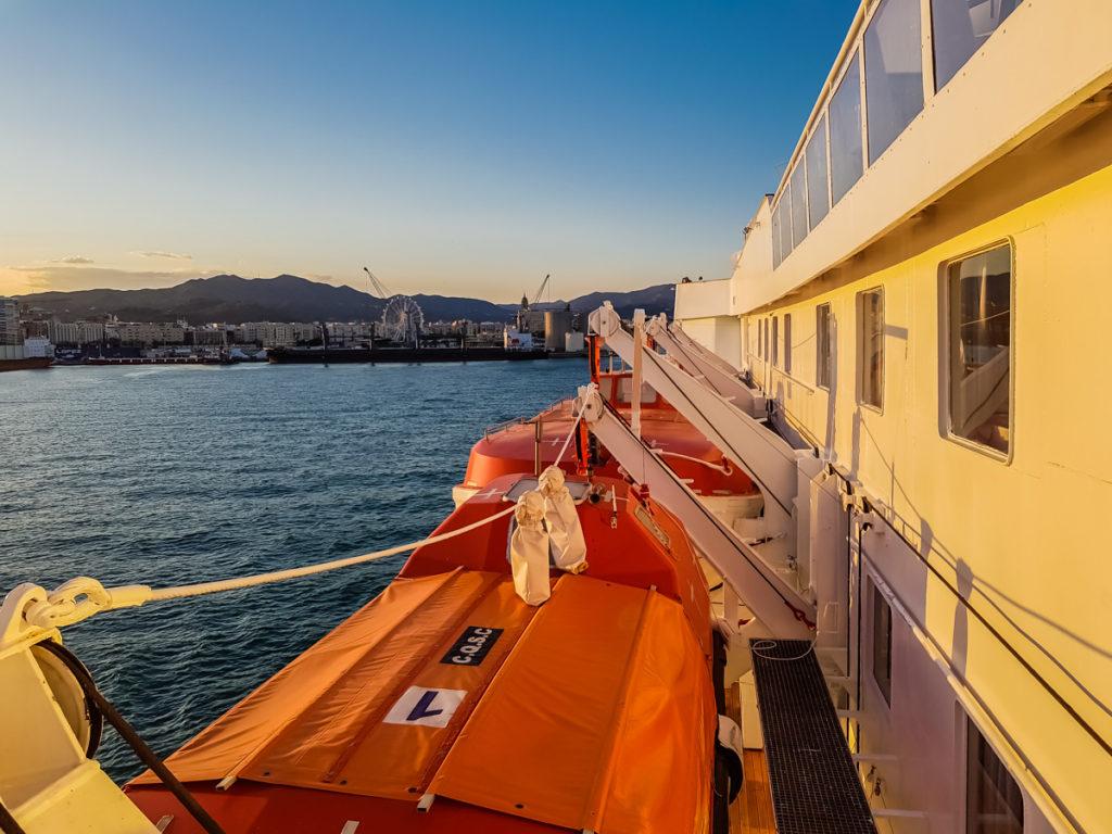 MS Ocean Majesty in Malaga