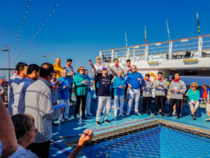 Maritimer Frühschoppen an Bord