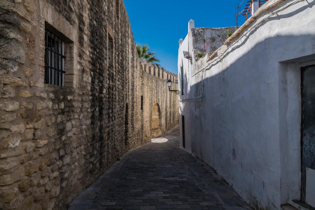 Stadtmauer in Vejer de la Frontera