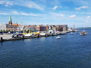 Kiel im Rahmen der Kieler Woche