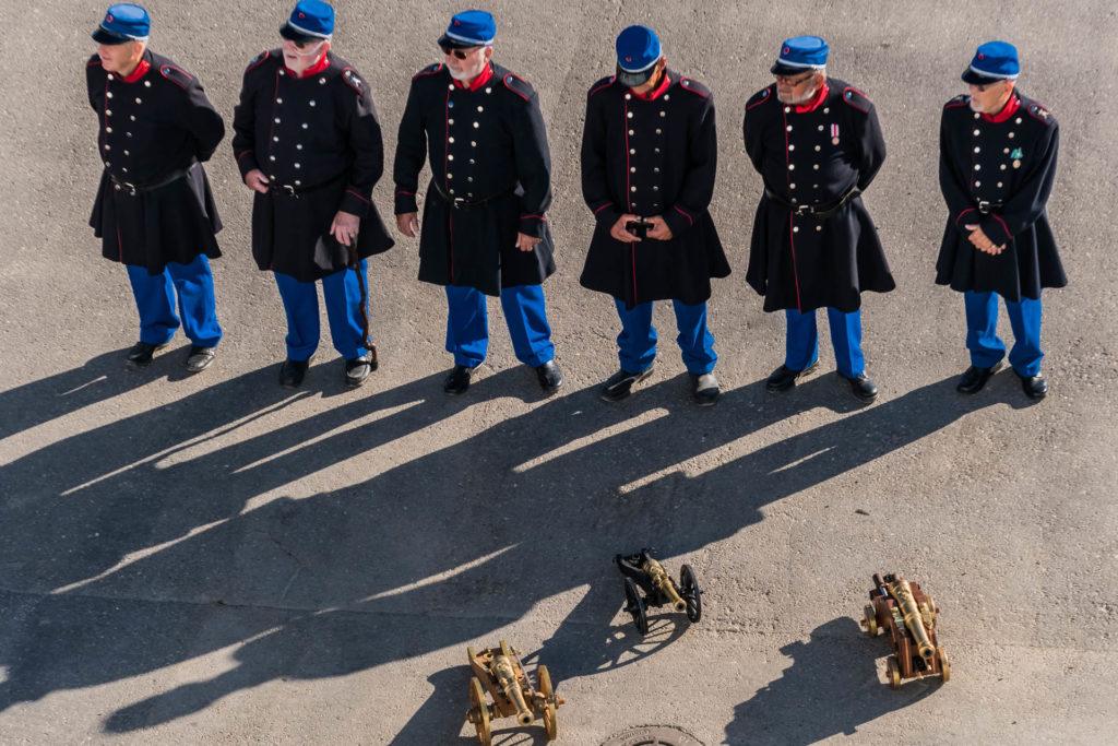 Kanonensalut in Fredericia