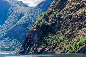 Die Einfahrt in den Aurlandsfjord