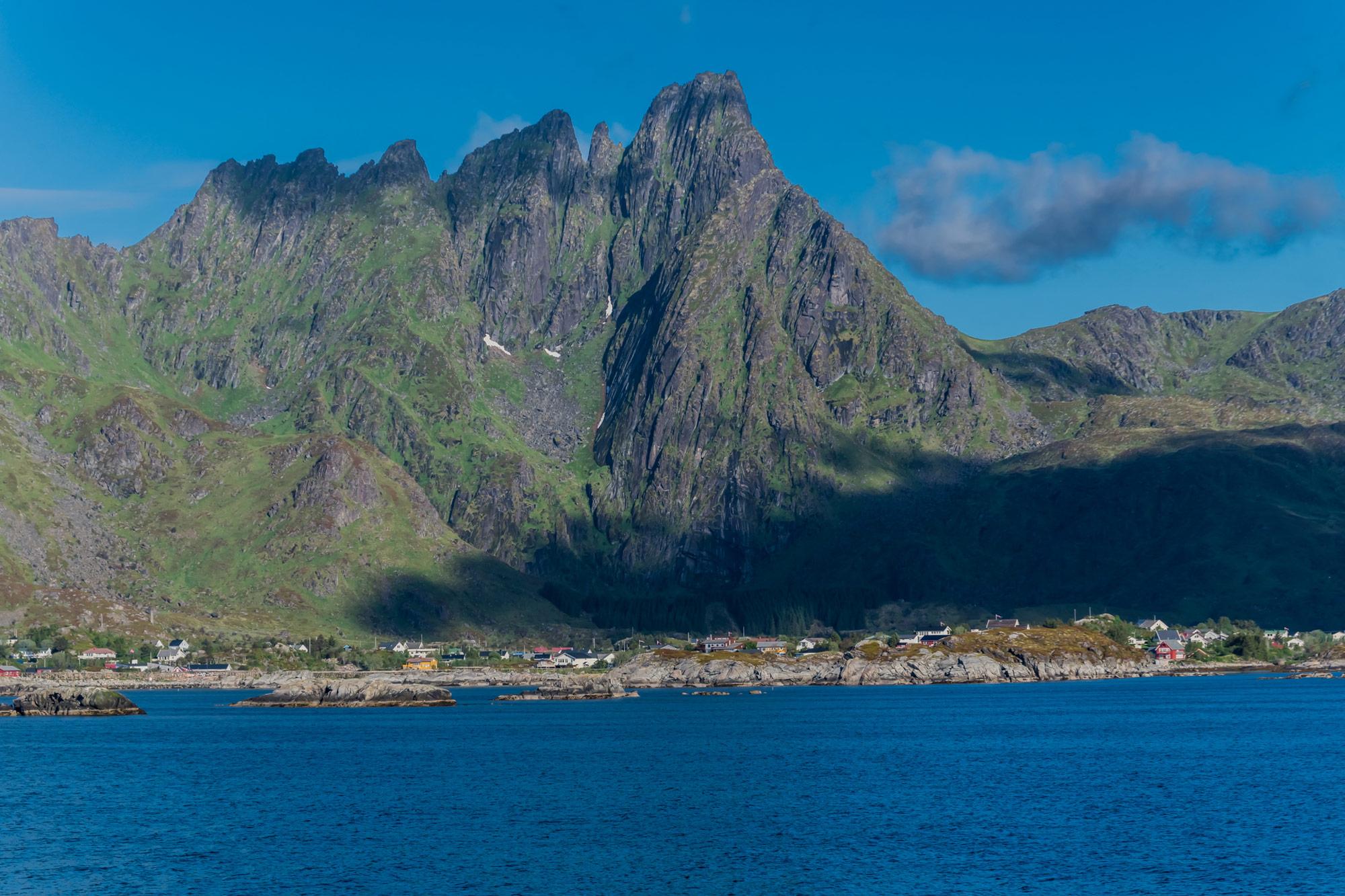 Berge der Lofoten