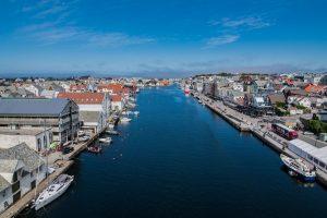 Haugesund in Norwegen