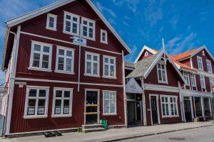 Historische Häuser in der Heringsstadt