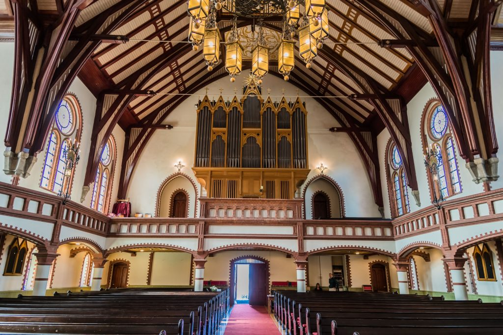Inneres der Var Frelsers Kirke