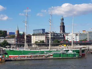 Hamburg mit dem Michel