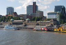 Die Hamburger Landungsbrücken