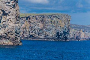 Steilküste der Shetland Inseln