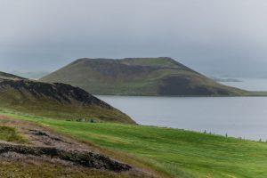 Pseudokrater am Myvatn auf Island