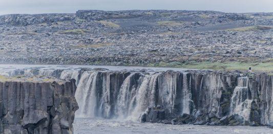 Wasserfall beim Dettifoss auf Island