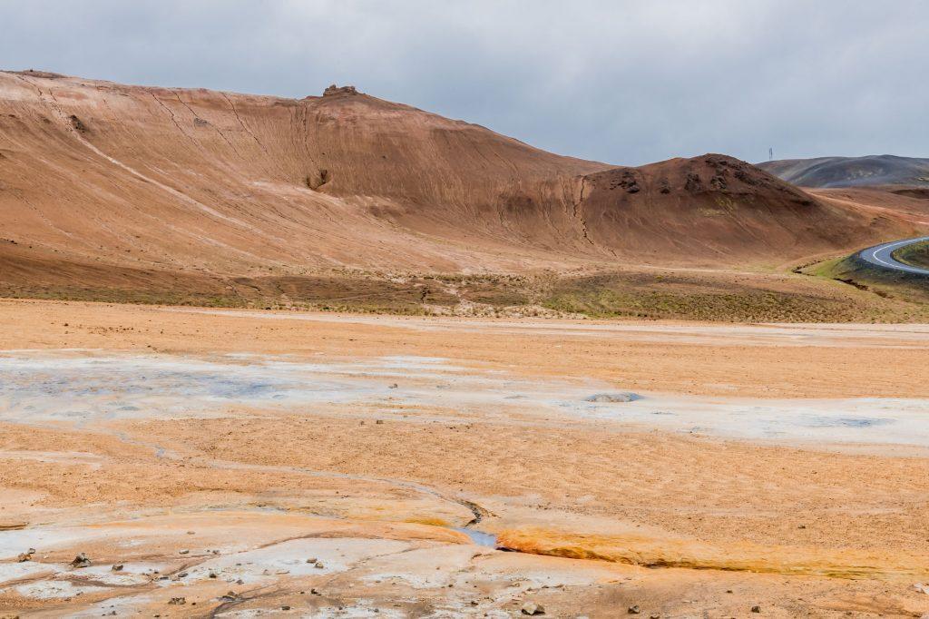 Hochtemperaturgebiet Namaskard auf Island