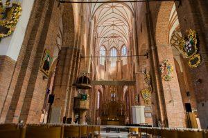 Inneres der Petrikirche