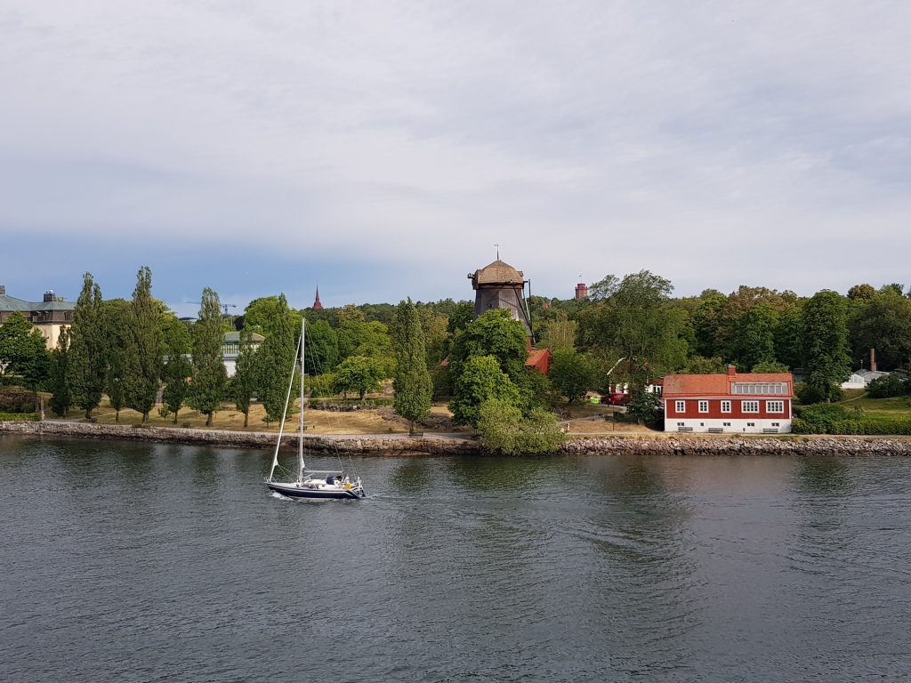 Windmühle in Stockholm