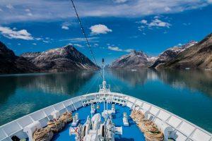MS Ocean Majesty im Prins Christian Sund