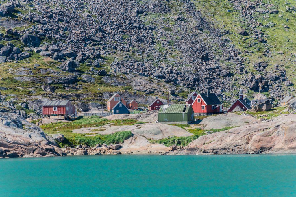 Appilatoq das Dorf om Prins Christian Sund