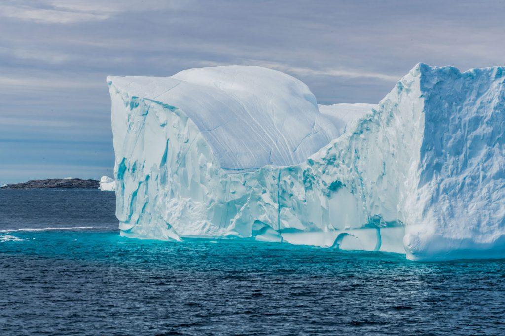 Eisberg vor der Diskoinsel