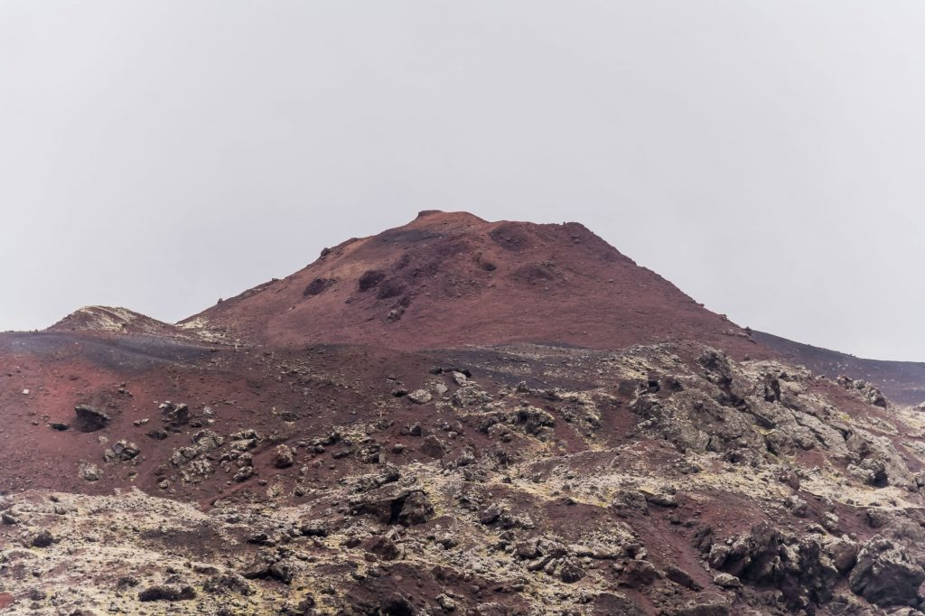 Vulkan auf den der Insel Heimaey