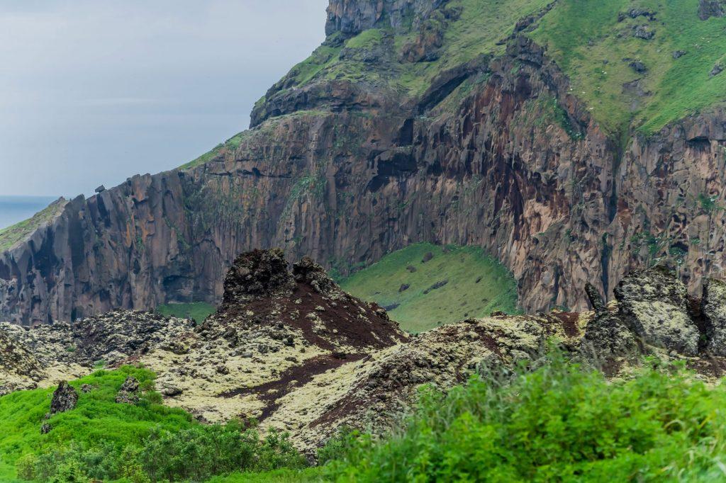 Vulkanlandschaft auf der Insel Heimaey