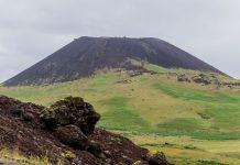 Vulkan auf der Insel Heimaey