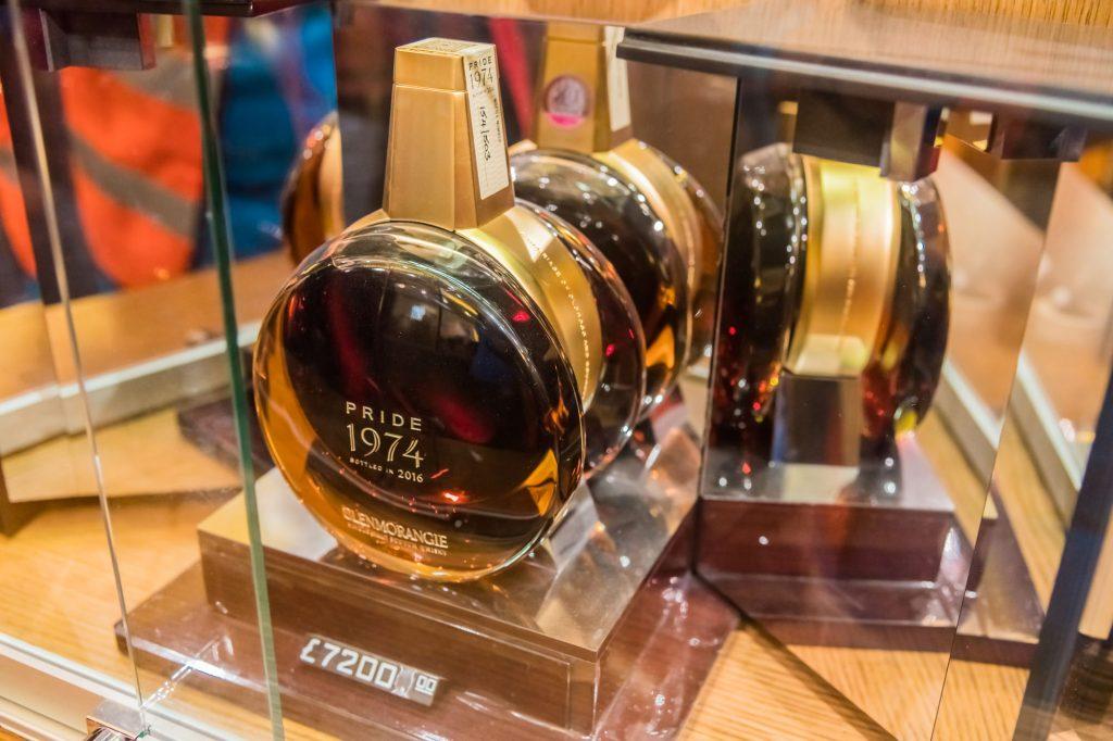 Teuerste Whiskyflasche in Glenmorangie