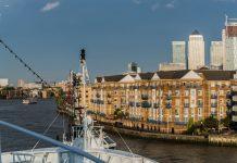 MS Ocean Majesty auf der Themse