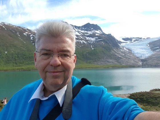 Peter Jurgilewitsch in den norwegischen Fjorden