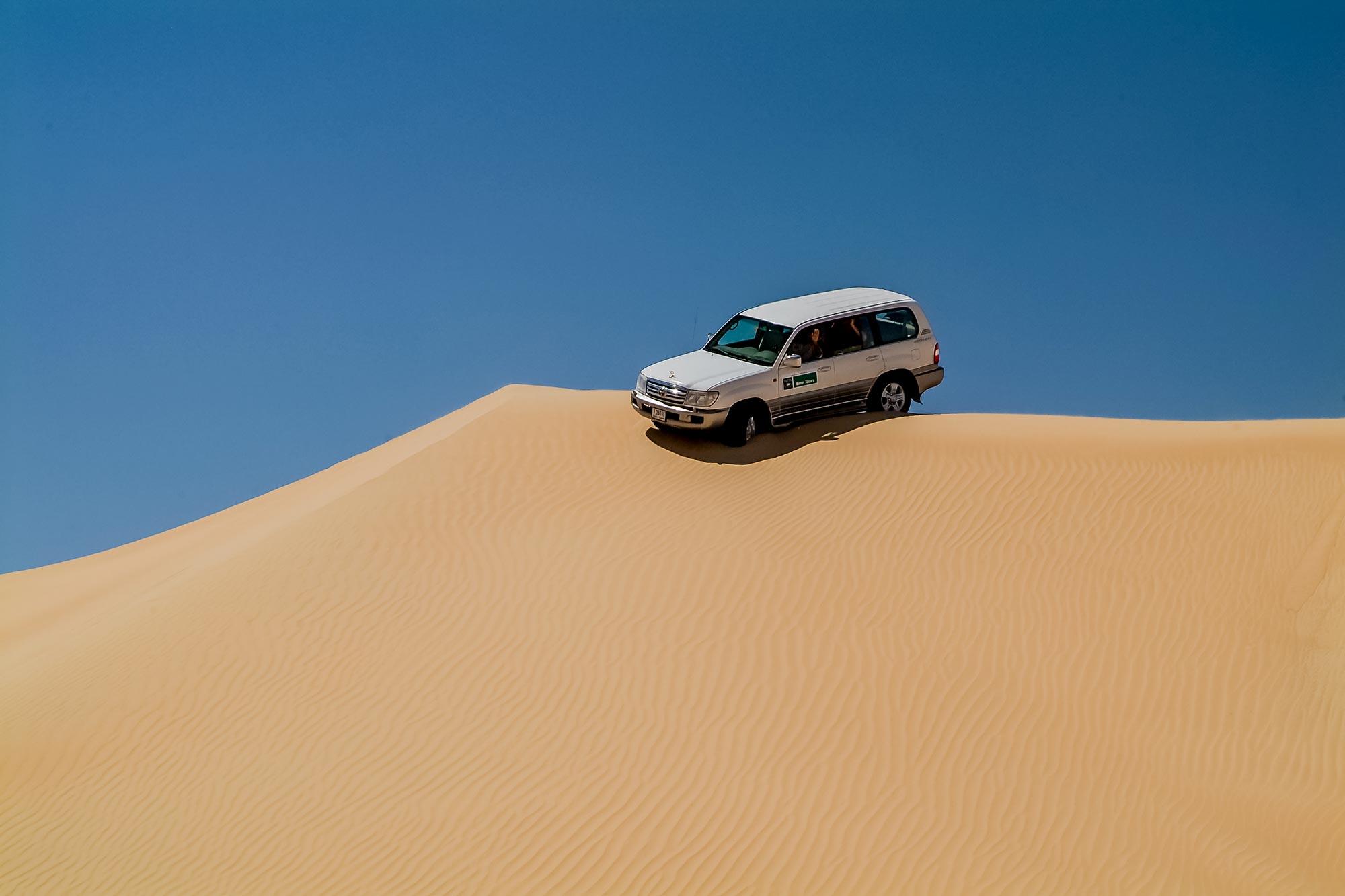 In der Arbaischen Wüste in Dubai