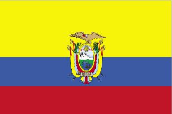 Flagge Ecuador