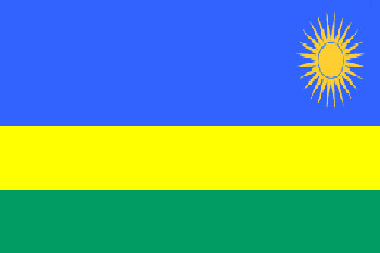 Land 139 Ruanda -Afrika