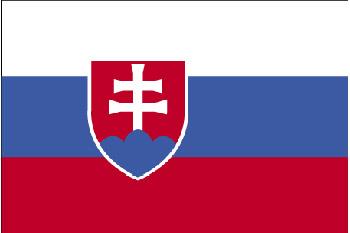Flagge Slowakei