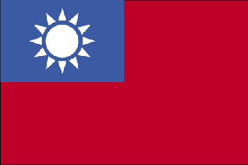 Land 170 Taiwan -Asien