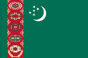 Land 180 Turkmenistan -Asien