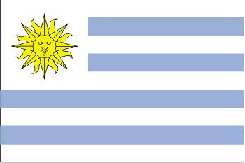 Land 185 Uruquay -Südamerika
