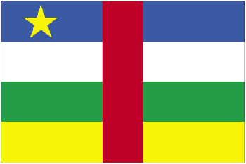 Land 193 Zentralafrikanische Republik -Afrika