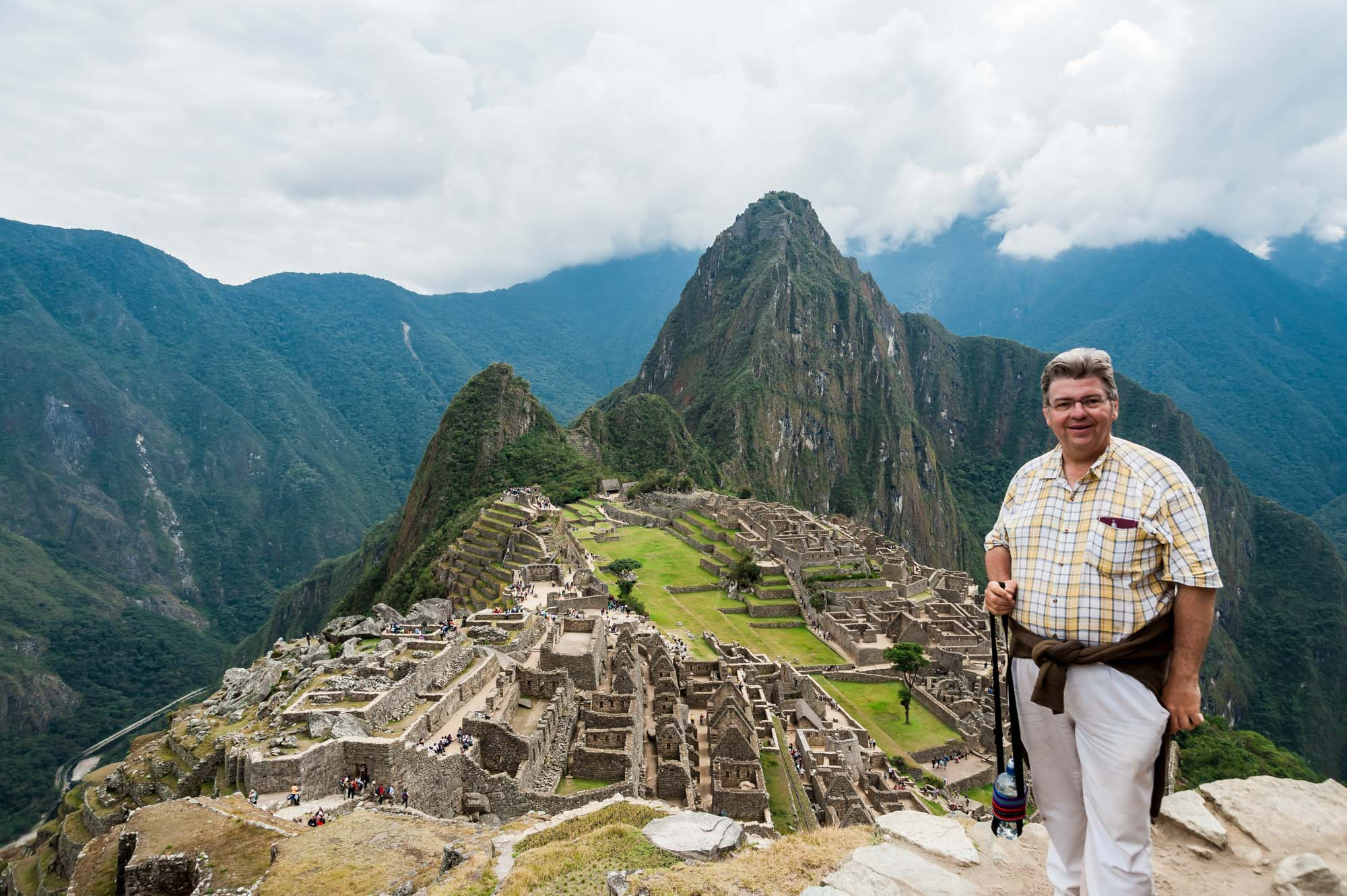 Peter Jurgilewitsch in Macchu Picchu/Peru