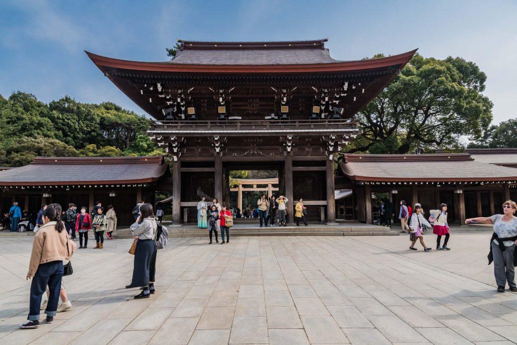 Der Meji-Schrein in Tokio