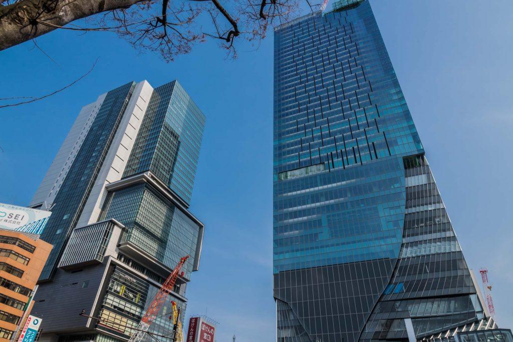 Moderne Hochhaus-Architektur in der größten Stadt der Welt