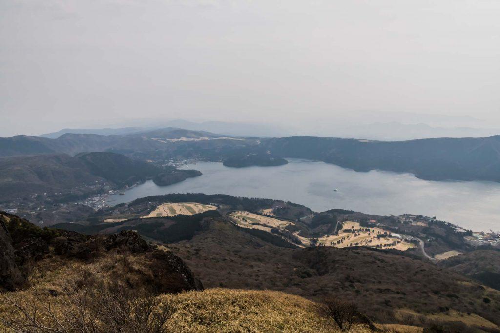 Ashi See nahe dem Fujisan