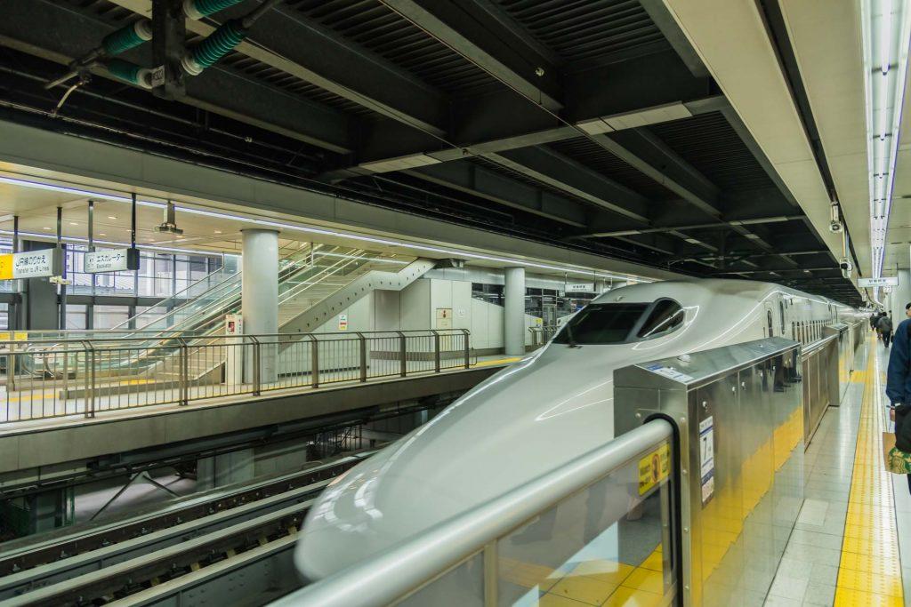 Shinkansen in Tokio