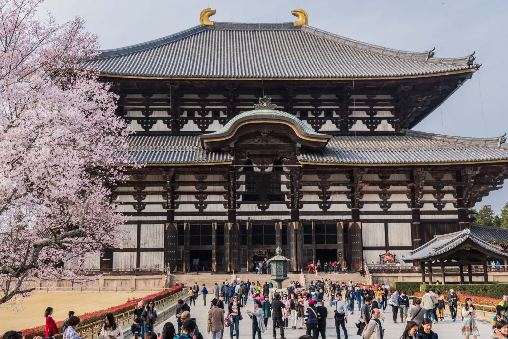 Todai-ji-Tempel in Nara