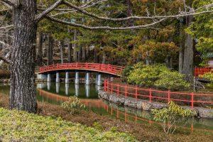 Brücke in Mount Koya