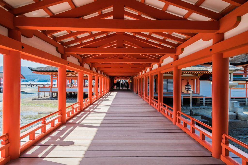 Itsukushima-Schrein auf Miyajima