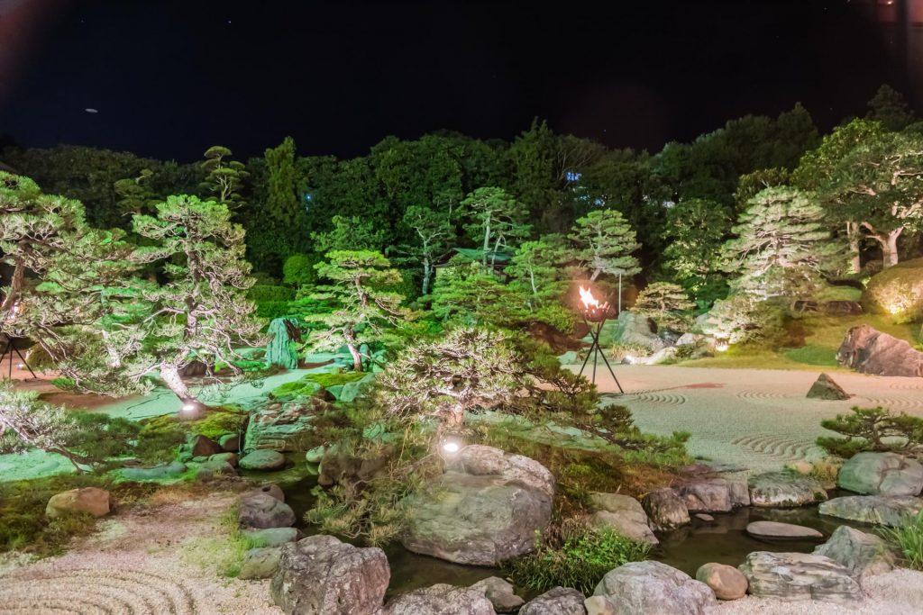 Garten im Hotel Gyukusen Matsue
