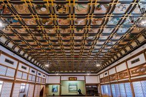Malereien der Empfangshalle im Eihei-ji