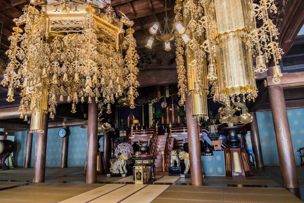Im Hauptgebäude des Eihei-ji